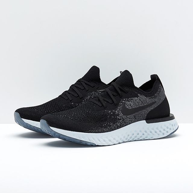 Jual Sepatu Lari Nike Epic React Flyknit Black Aq0067 001 Ori