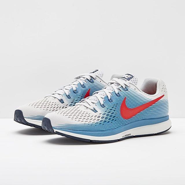 Jual Sepatu Lari Nike Air Zoom Pegasus 34 Grey Red 880555 016