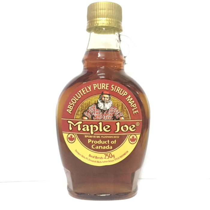 harga Maple joe / pure maple syrup 250gr Tokopedia.com