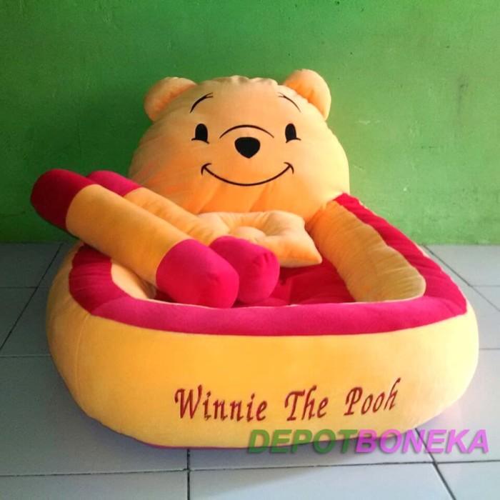Kasur Bayi Winnie The Pooh Polkadot Bantal Guling