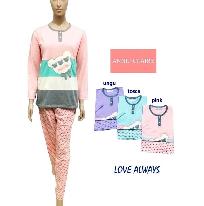 harga Love always bajutidur/ piyama wanita /sleepwear anne claire. Tokopedia.com