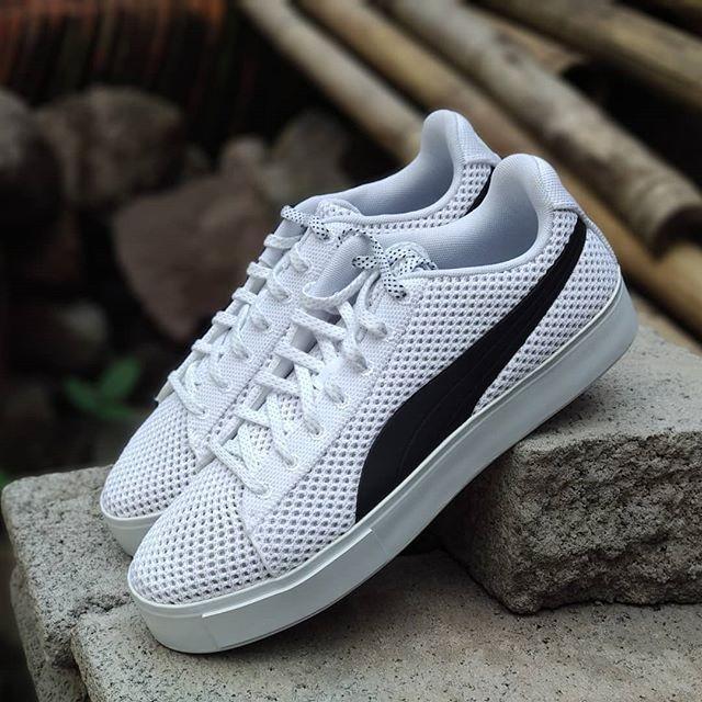 Jual sepatu casual sneakers PUMA X DP COURT PLATFORM K original asli ... f77e6a9ea