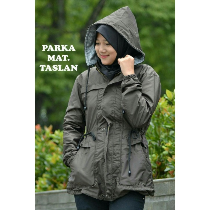 harga Jaket parka wanita anti air waterproof jacket perempuan jeket cewek cw Tokopedia.com