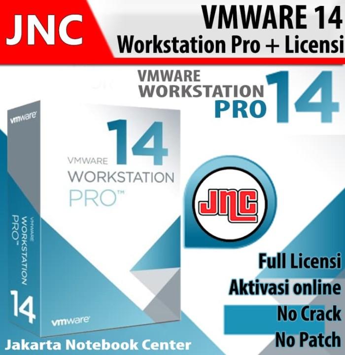 harga Vmware workstation pro 14 license key for windows aktivasi online Tokopedia.com