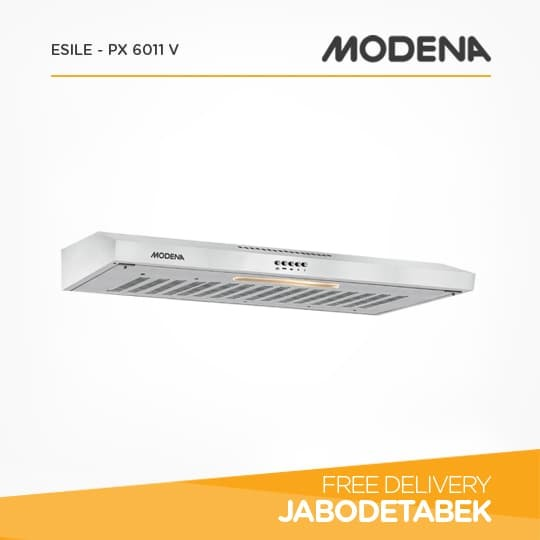 harga Slim Hood Cooker MODENA 60Cm Esile - PX 6011 V (Silver) Tokopedia.com