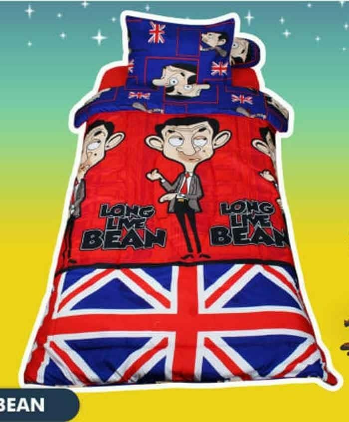 harga Sprei california 120x200 mr bean england Tokopedia.com