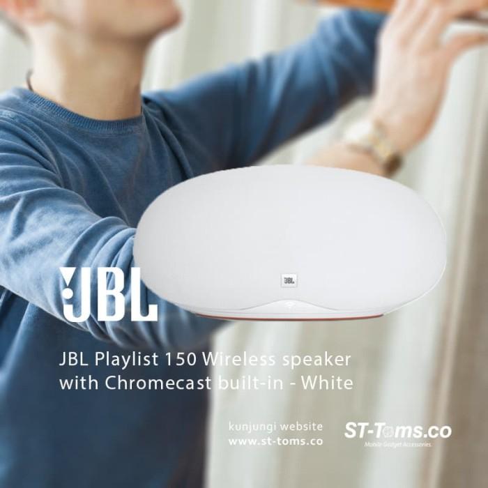 harga Jbl playlist 150 wireless speaker with chromecast built-in - white Tokopedia.com