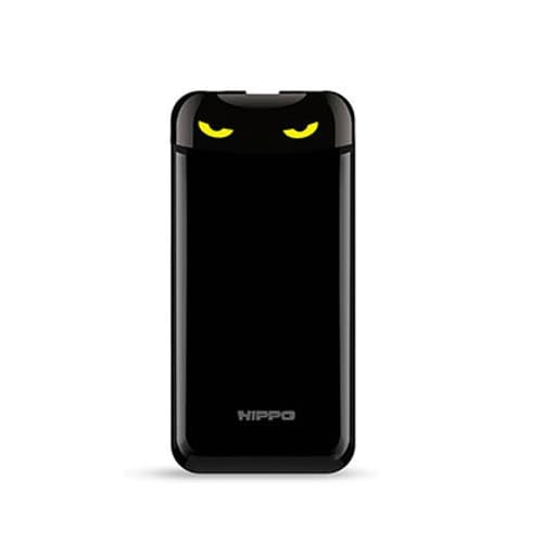 hippo power bank eyes 12000 mah simple pack - hitam