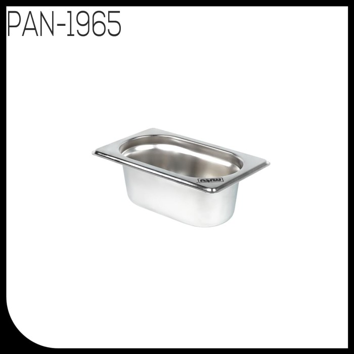 Food pan 1/9 kedalaman 65 stainless steel mutu pan-1965