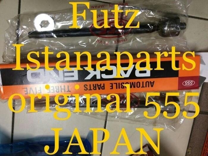 Long tierod # rackend merk 555 japan toyota etios asli original 2pcs