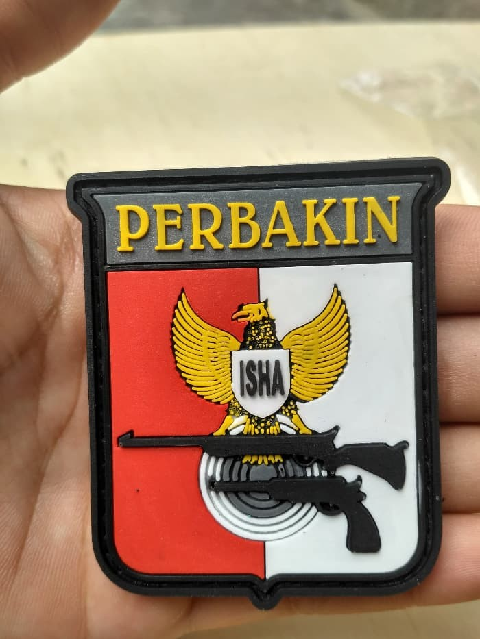 Jual Patch Rubber Perbakin Logo Perbakin Diskon Kota Medan