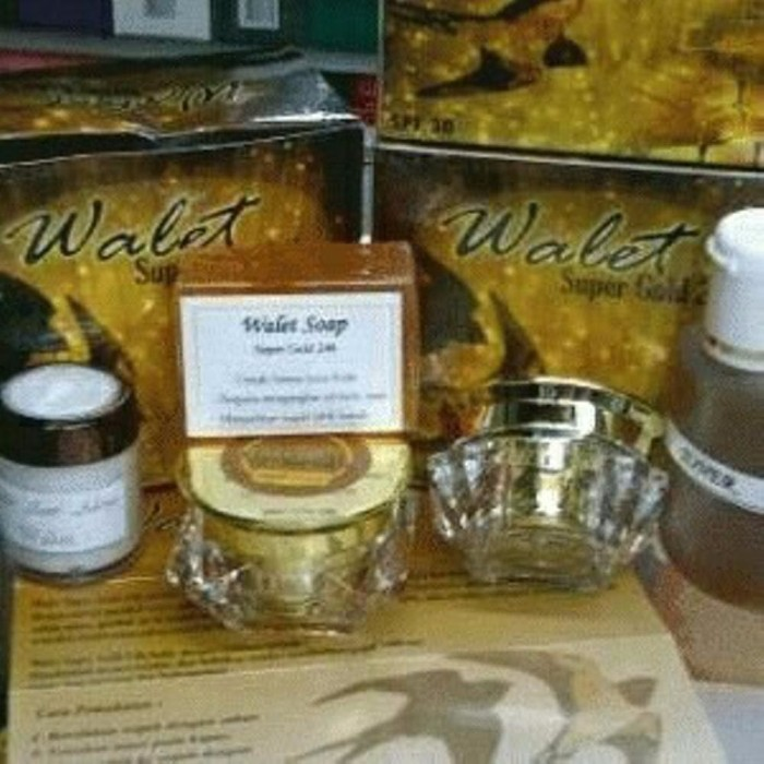 cream walet super gold 24k original terbaik