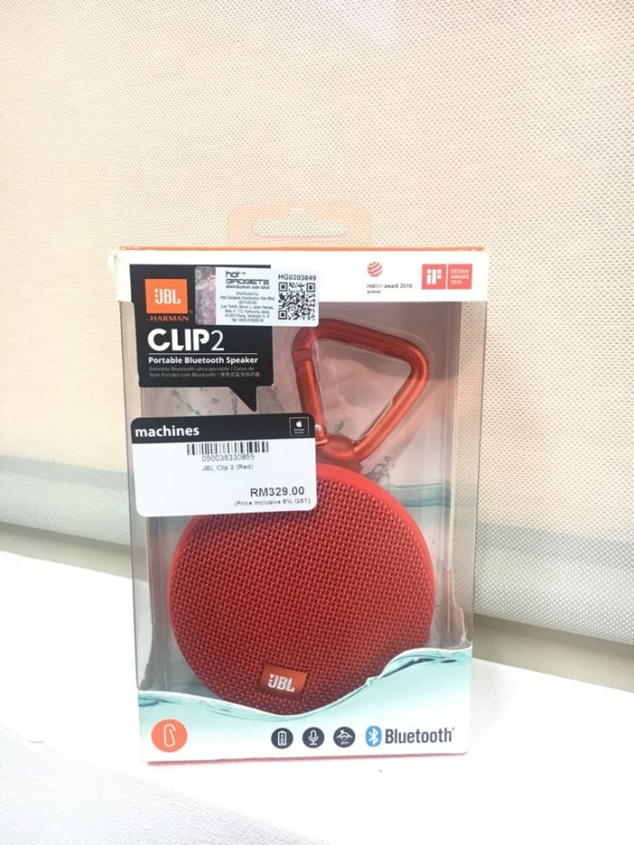 harga Jbl clip 2 waterproof portable bluetooth speaker original Tokopedia.com