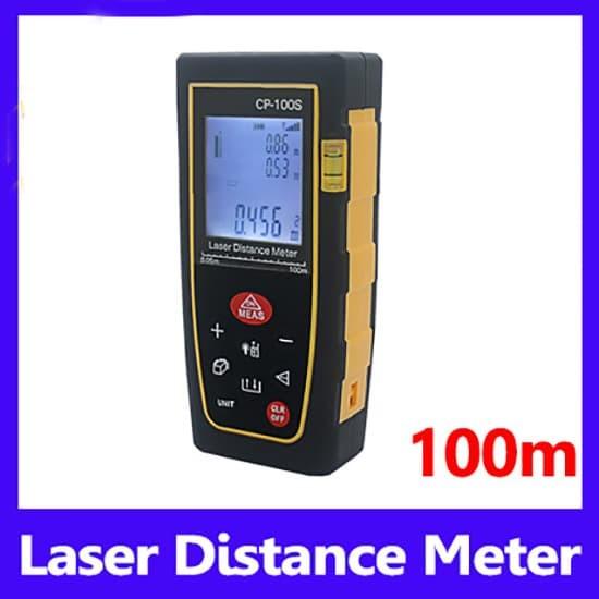 Foto Produk Laser Distance Meter 100 Meter Meteran Digital 100M CP100S UkurJarak M dari HRDIK