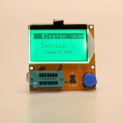 harga Lcr-t4 esr tester meter transistor diode triode capacitance scr Tokopedia.com