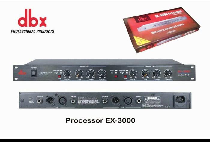 Processor dbx ex 3000 audio prosessor