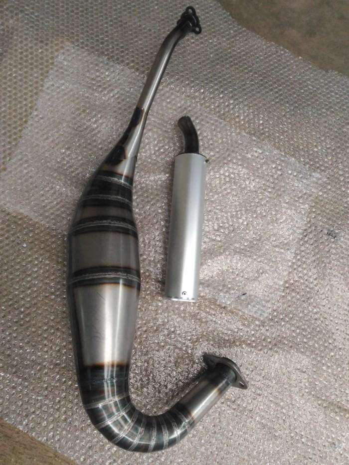 harga Knalpot ninja 2tak 150 r rr ss model creampie kdx dll gembung c dan l Tokopedia.com