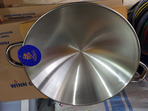 harga Wajan penggorengan bima prima 30cm stainless steel Tokopedia.com