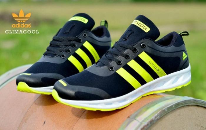 sepatu running pria adidas climacool termurah sepatu jogging lari gym -  Kuning 5be005a038