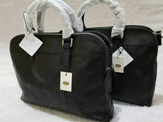 harga Sale fossil mercer tz workbag black leather . tas laptop fossil ori Tokopedia.com