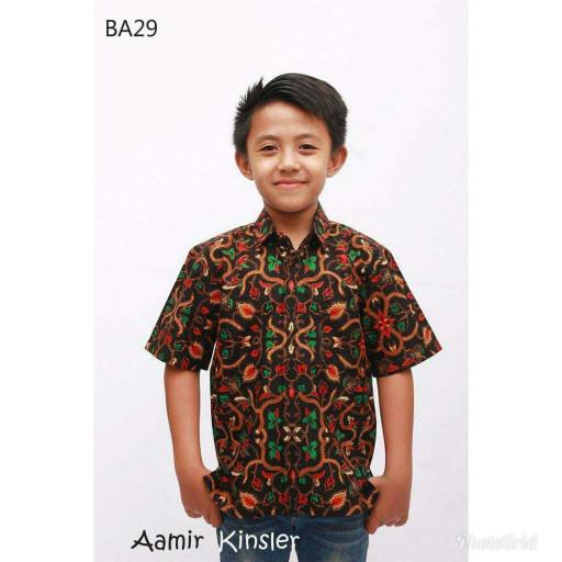 Jual Hem Batik Anak Cowok Baju Batik Anak Usia 4 Tahun Kemeja Batik Anak Kota Tangerang Hanan Batik Olshop Tokopedia