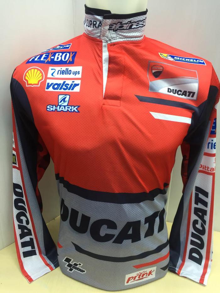 harga Baju jersey balap motor ducati panjang Tokopedia.com