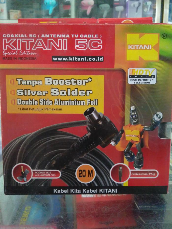harga Kabel antena kitani 20m Tokopedia.com
