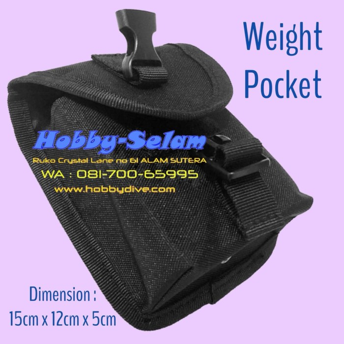 harga Scuba diving weight pocket weight belt black hd-052 Tokopedia.com