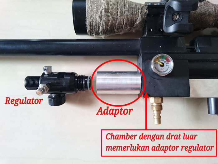 harga Adapter / sambungan regulator paintball ke blok chamber bocap Tokopedia.com