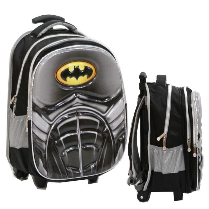 Jual Tas Trolley Anak SD Import Batman 6D Timbul Soft Hard Cover ... 54a0b211d9
