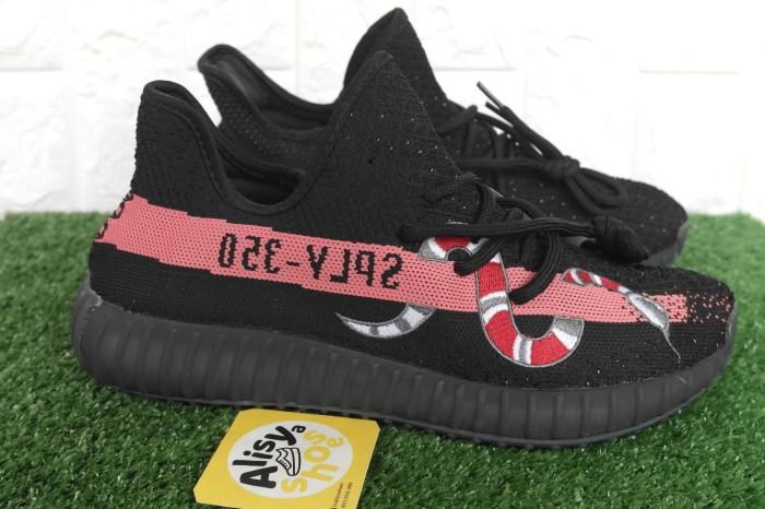 best service 7d2be ff6d0 Jual Sepatu Adidas Yeezy Boost 350 V2 X Gucci Snake Black - Jakarta Selatan  - Alisyashoes | Tokopedia