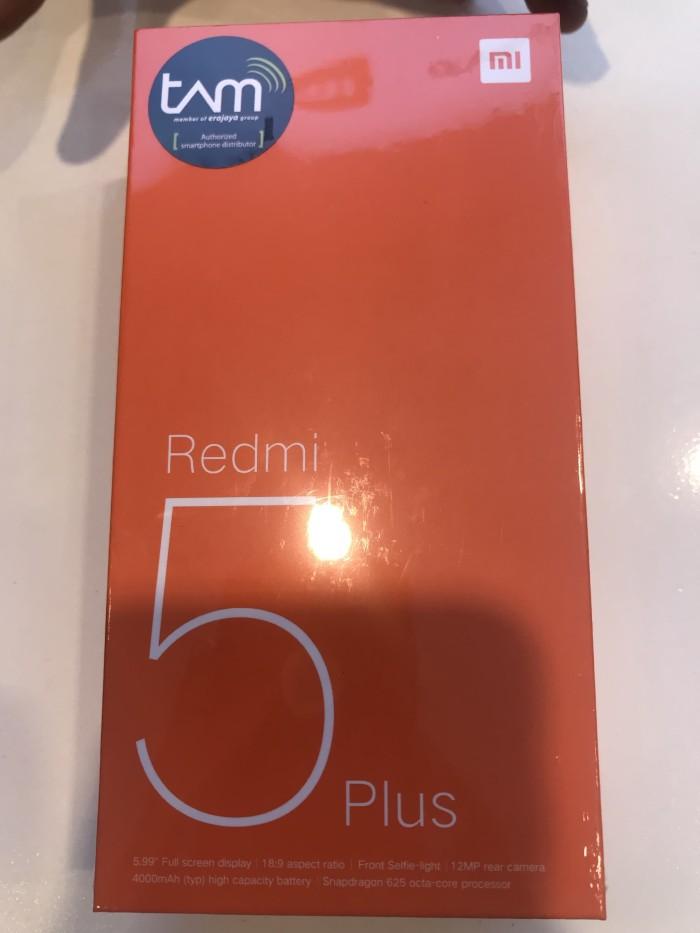 harga Xiaomi redmi 5 plus 3/32 grs tam 1 tahun Tokopedia.com