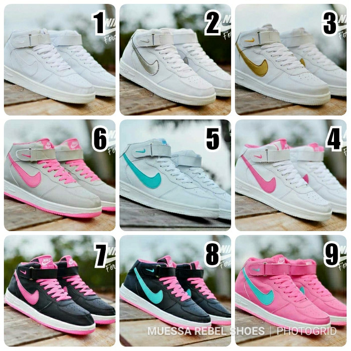 Jual sepatu nike air force one high women cek harga di PriceArea.com b02fa74d68