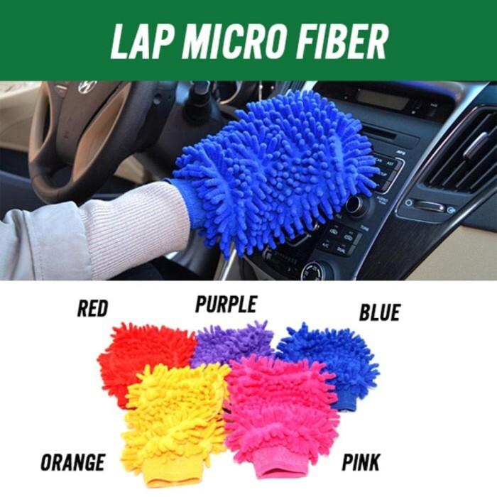 Foto Produk Sarung Tangan Cendol Microfiber Murah Lap Cendol Mikrofiber Lembut Hal dari Blenda Autumn Shop