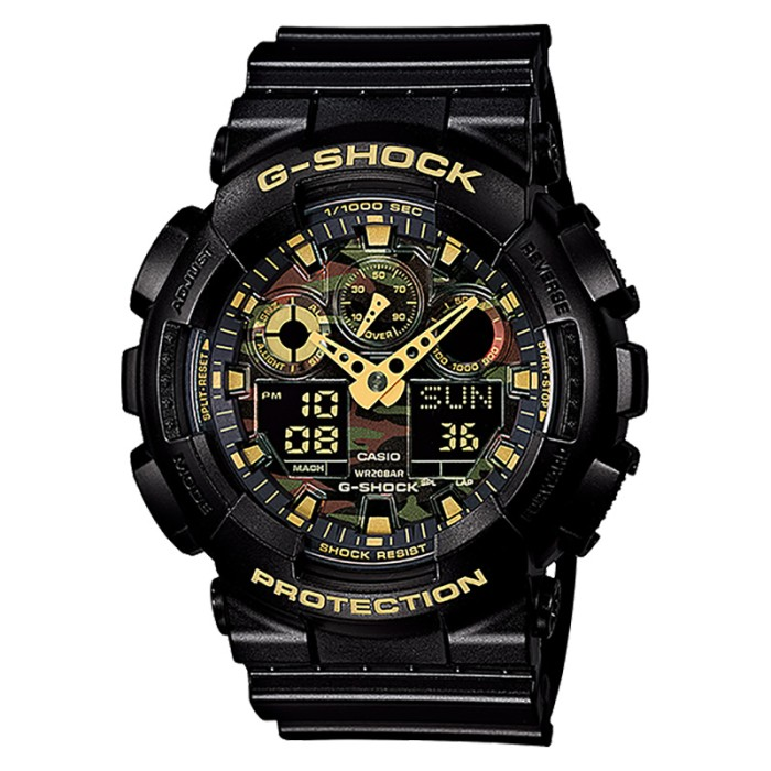 harga Casio g-shock ga-100cf-1a9dr jam tangan pria ori Tokopedia.com