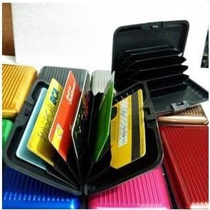 Card Guard Holder Wallet Dompet Kartu Nama Atm Kartu Kredit