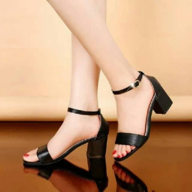 Jual Sepatu High Heels Sepatu Wanita High Heels Hak Tahu DHL Putih Putih, 36 Jakarta Barat Vanfashionshop | Tokopedia