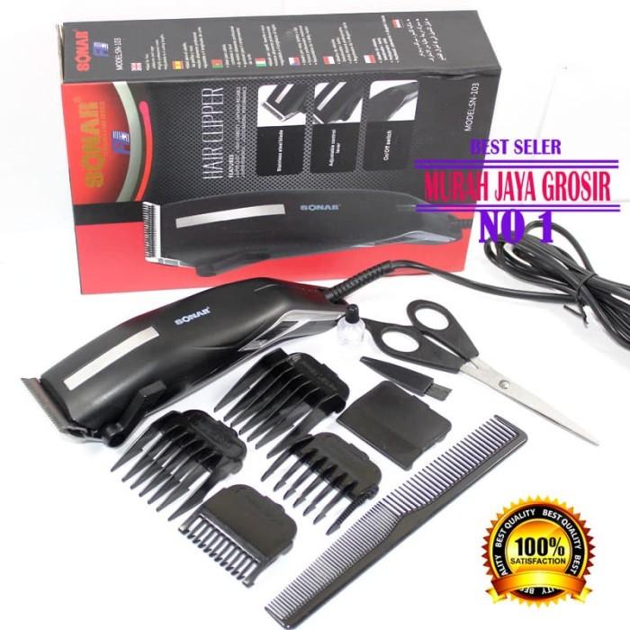 Jual Sonar SN 103 alat cukur rambut elektrik clipper mesin cukur ... 072bcd2653