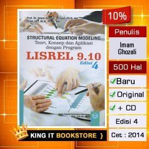 harga Buku structural equation modeling - sem dengan lisrel - imam ghozali Tokopedia.com