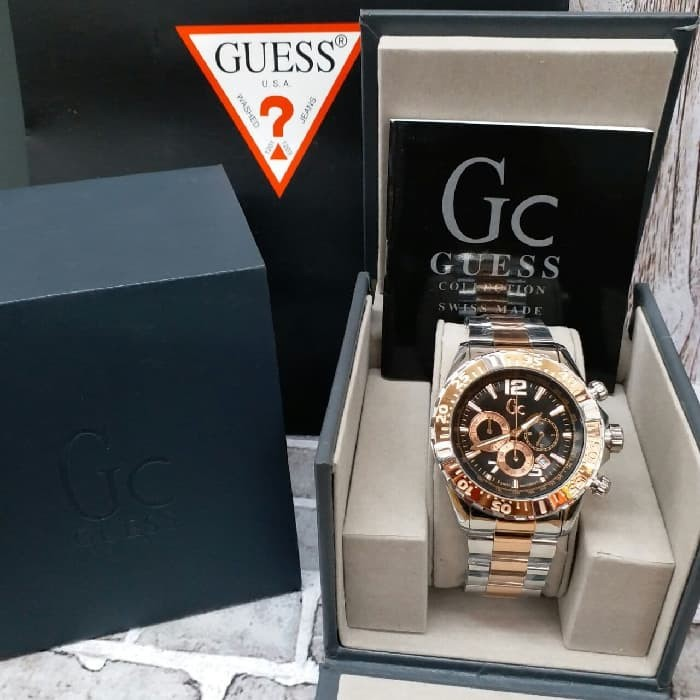 Rubber Strap Source · Jam Tangan Pria GC Guess Collection Grade Premium .