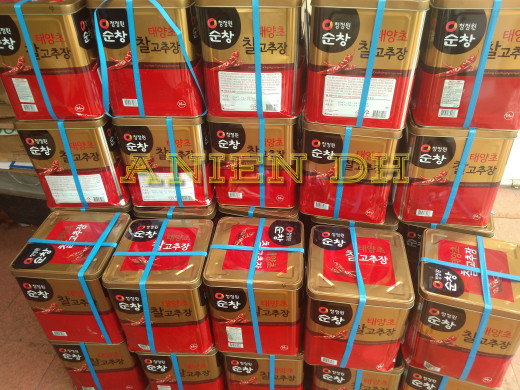 harga Gochujang/ 14kg/ cabe pasta/ saus sambal/ murah/ distributor Tokopedia.com