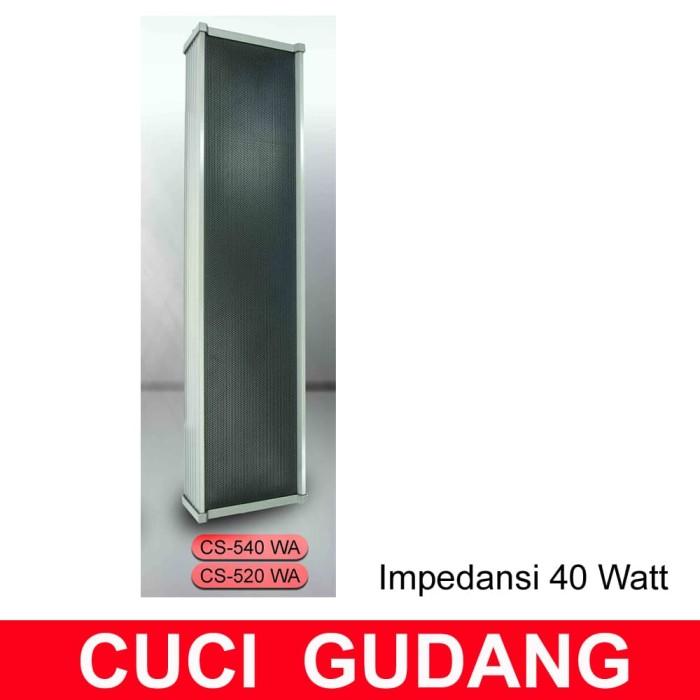 harga Column speaker 40 watt ( 40w/40 w ) colum speker cpc toa Tokopedia.com