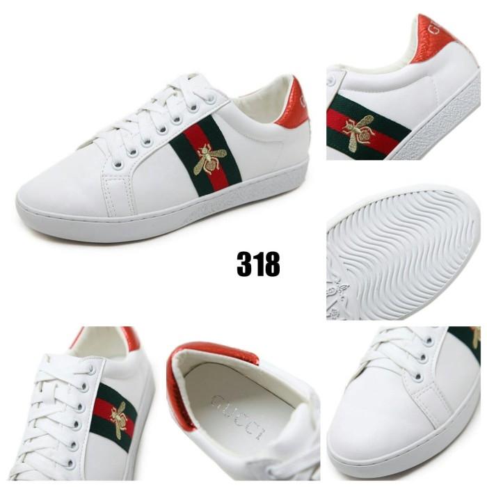 4e7a948c174 Jual SEPATU WANITA MURAH BATAM Gucci Ace Bee Sneaker AC 318 UP ...