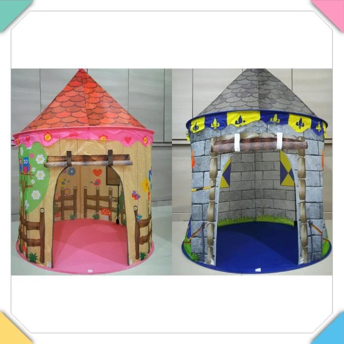 Tenda anak jumbo besar / mainan rumah / baby tent istana / camping