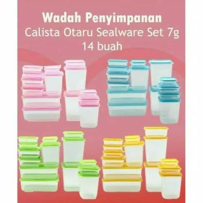 harga Calista otaru sealware toples isi 14pcs Tokopedia.com