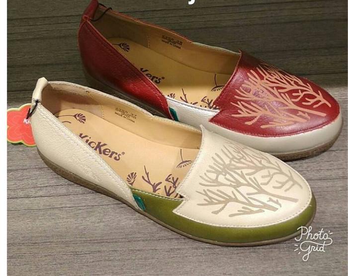 Jual Sepatu Wanita Kickers Ori Murah Sale Original Flat
