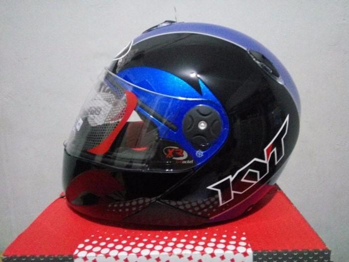 BEST MODEL Helm KYT x Rocket Retro helm murah helm fullface 1