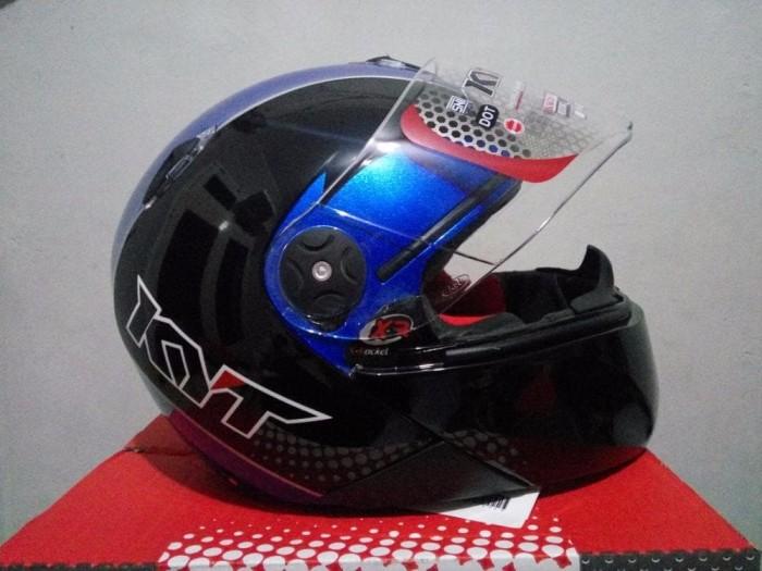 BEST MODEL Helm KYT x Rocket Retro helm murah helm fullface 4