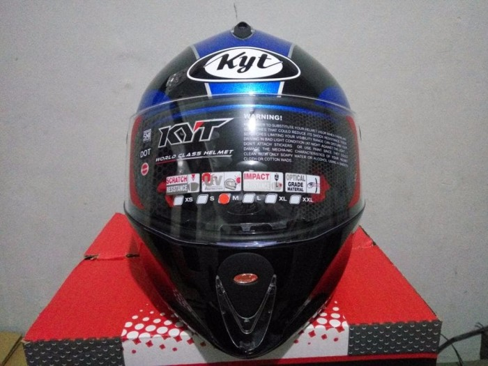 BEST MODEL Helm KYT x Rocket Retro helm murah helm fullface 2