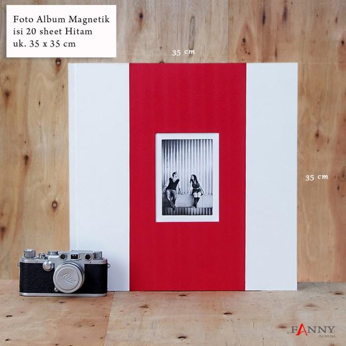harga Foto album magnetik jumbo isi 20 sheet jb-20 h / 01_b Tokopedia.com